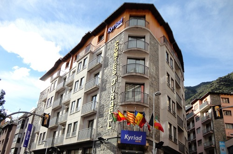 Hotel Kyriad Comtes D'Urgell1